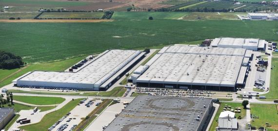 Volkswagen Poznań – Werk Nr. 4 Swarzędz – Halle 4