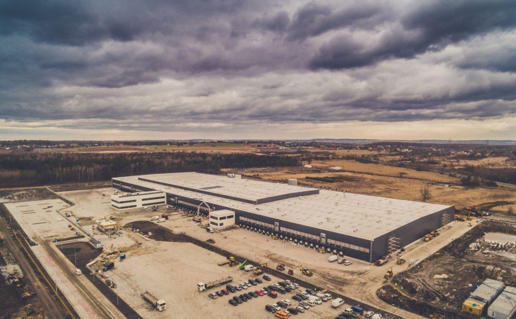 Centrum Dystrybucyjne LIDL Mińsk Mazowiecki (im Bau)