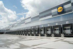 CD LIDL Pruszcz Gdański – etap 3 i 4 – przebudowa hali istniejącej oraz nowy biurowiec, portiernia, budynek socjalny kierowców (w trakcie realizacji)