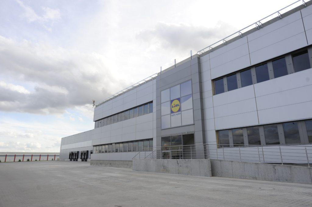 CD LIDL Jankowice – przebudowa biurowca oraz hali